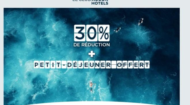 Prix Crazy Accor Hotels -30 % garantis