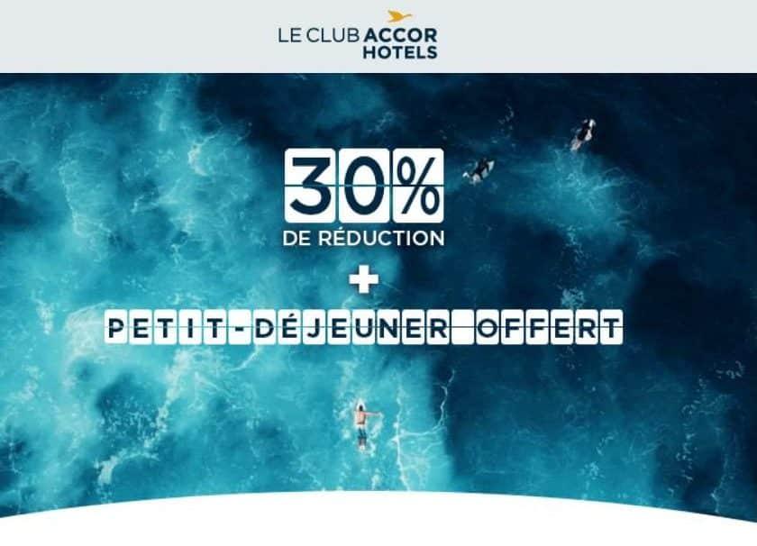 Prix Crazy Accor Hotels -30 % garantis