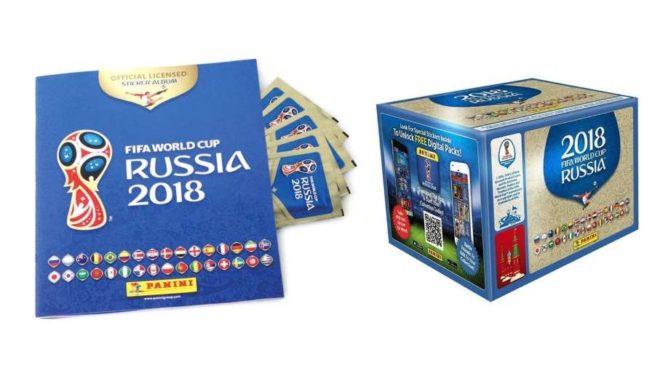 Stickers Panini coupe du monde Russie 2018 pas chers