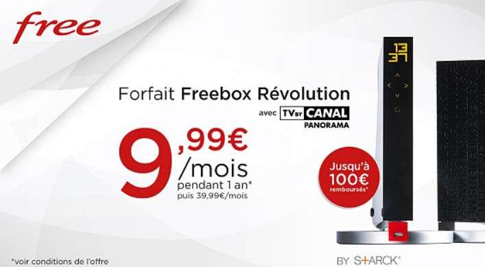 VP Freebox Révolution avec TV by CANAL