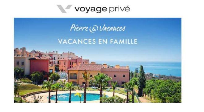 Vente Privée Pierre & Vacances