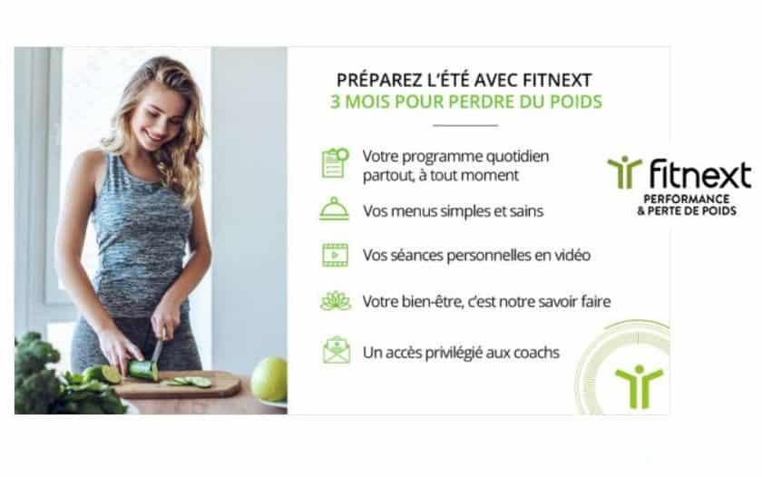 Vente privée Fitnext méthode pour perdre du poids Erwann Menthéour