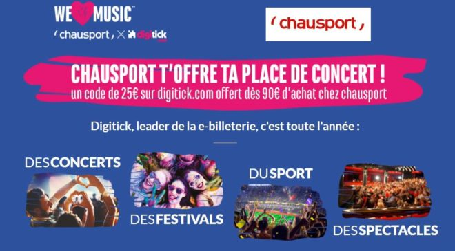 We Love Music Chausport