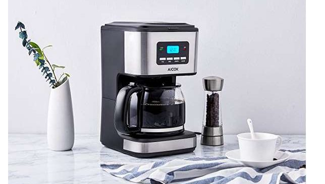 cafetière programmable 12 tasses Aicok