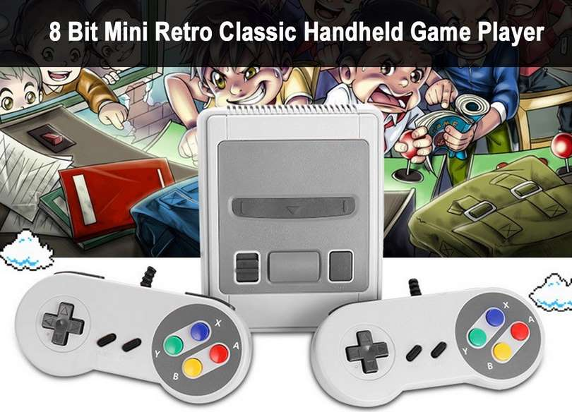 console retro de salon avec 2 manettes 620 SEGA retro jeux inclus
