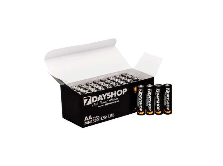 pack de 40 piles alcalines LR6 - AA 7dayshop