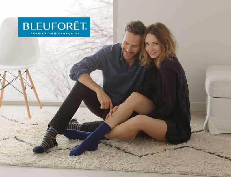 remise sur Bleuforêt chaussettes et collants fabriqués français