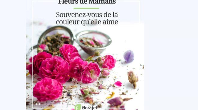remise sur Florajet (livraison de fleurs) pour la FÊTE DES MÈRES