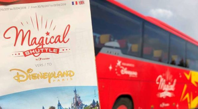 remise sur Magical Shuttle la navette officielle de Disneyland Paris