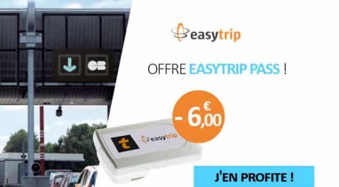 remise sur les badge de télépéage Easytrip Pass