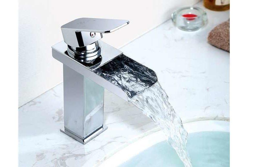 robinet mitigeur cascade de salle de bain Homelody