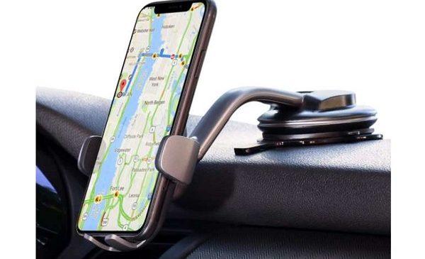 Support Smartphone De Tableau De Bord Et Pare Brise Rotatif Aukey