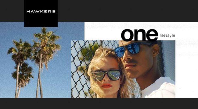 1 paire de lunette de soleil Hawkers gratuite