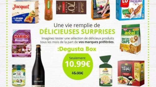 10,99€ seulement la Degustabox