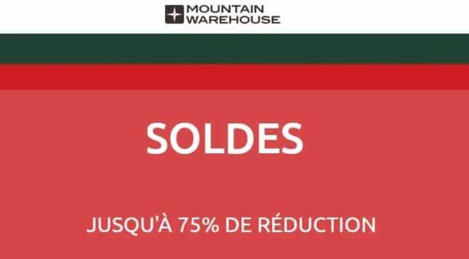 20% supplémentaire les soldes Mountain Warehouse