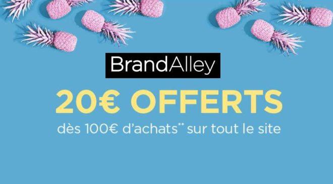 20€ de remise sur Brandalley