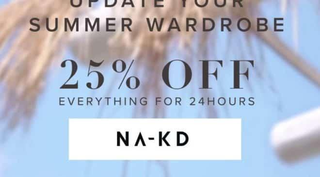 25% de remise sur NA-KD mode femme + livraison gratuite