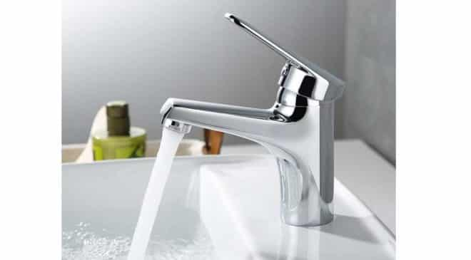 25,99€ le robinet de salle de bain Desfau