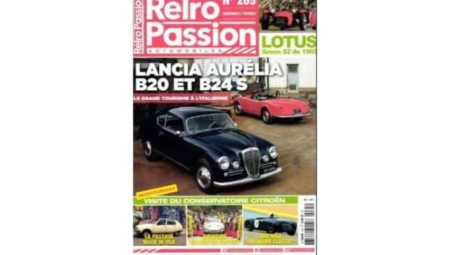 Abonnement magazine Rétro Passion Automobiles pas cher
