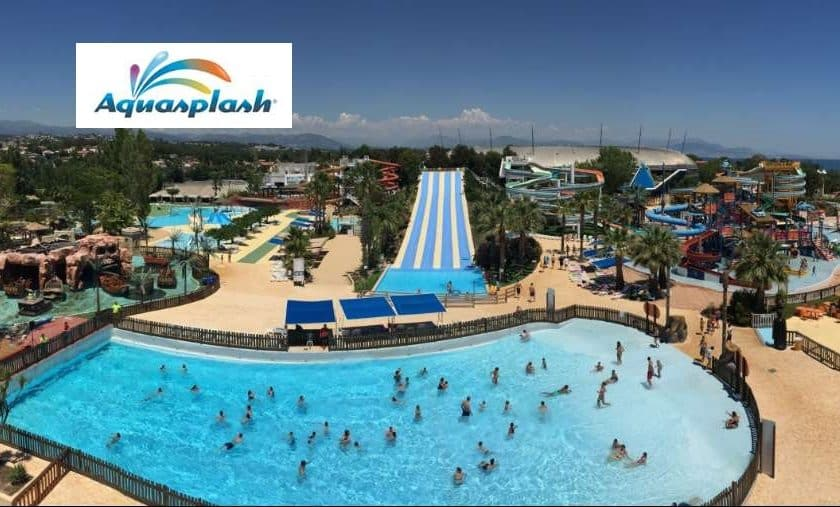 Billet Aquasplash Antibes pas cher