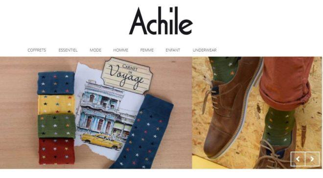 Bon de réduction Achile chaussettes fabriquées en France