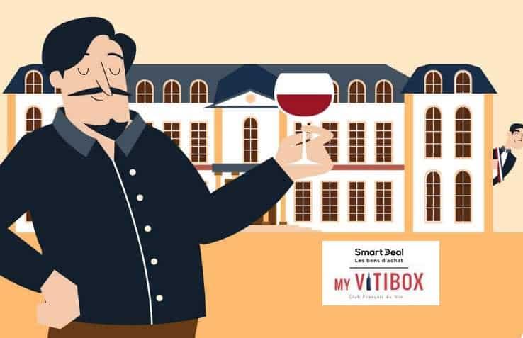 Box vins My Vitibox moitié prix