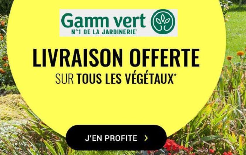 Livraison gratuite sur tous les végétaux sur Gamm Vert