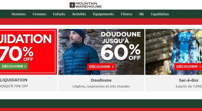Mountain Warehouse remise supplementaire
