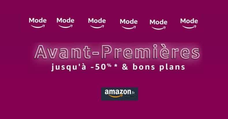 Pré-soldes Amazon Avant Premières Mode