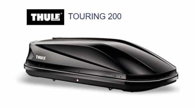 Promo coffre de toit Thule Touring 200 400L noir brillant