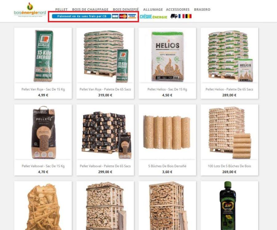 10 de remise sur bois energie nord vente en ligne de. Black Bedroom Furniture Sets. Home Design Ideas