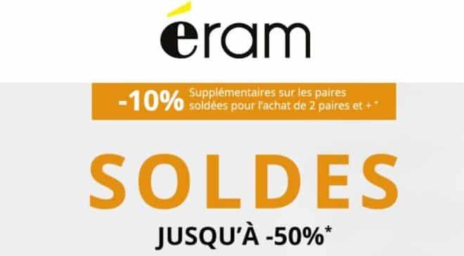 Soldes Eram -10% supplémentaire