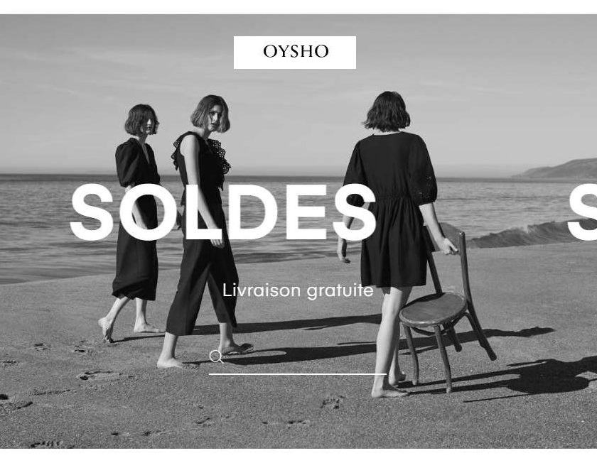 Soldes Oysho lingerie, bain, gym, homewear