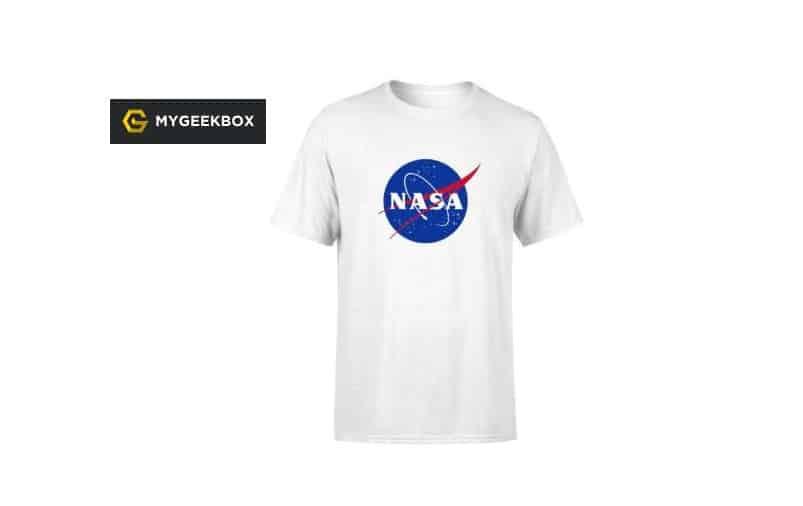 T-shirt Nasa officiel pour homme ou femme