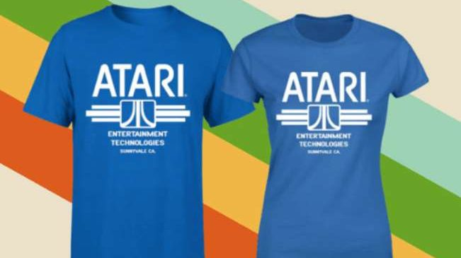 T-shirt officiel Atari pas cher