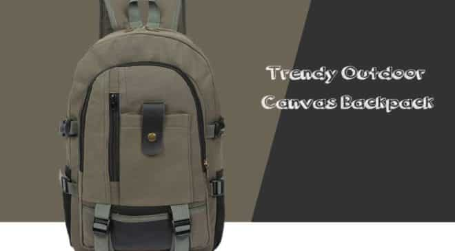 Vente flash sac à dos toile grande capacité Army Outdoor