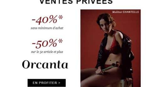Vente privée Orcanta