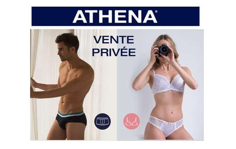 Vente privée de pré-soldes Athéna