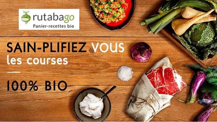 Vente privée paniers recettes BIO Rutabago moitié prix