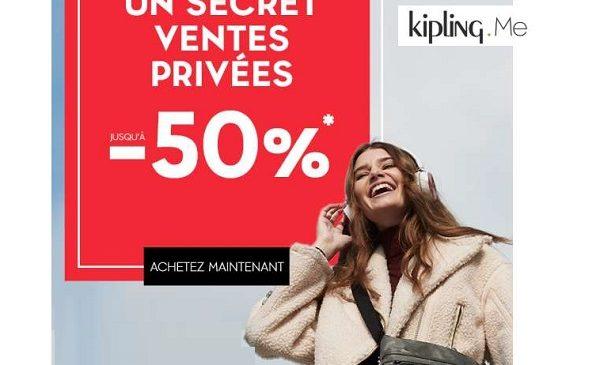 Ventes Privées Kipling
