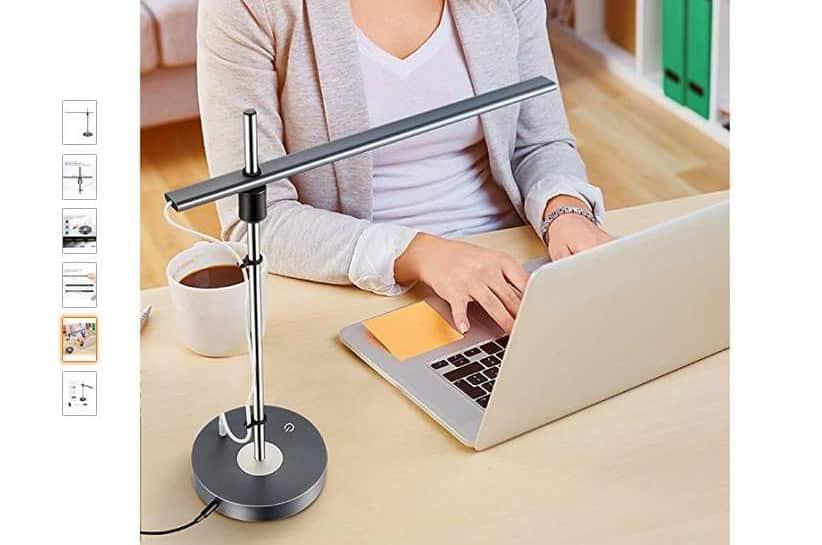 27 99 lampe led de chevet smart enceinte bluetooth alarme minuteur lumi re 7 couleurs. Black Bedroom Furniture Sets. Home Design Ideas