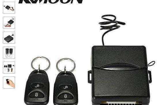 12 74 syst me de verrouillage centralis des portes de voiture t l commande kkmoon. Black Bedroom Furniture Sets. Home Design Ideas