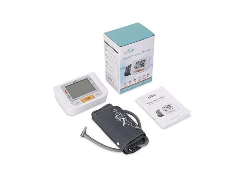 tensiomètre électronique de bras à brassard et large écran SIMBR