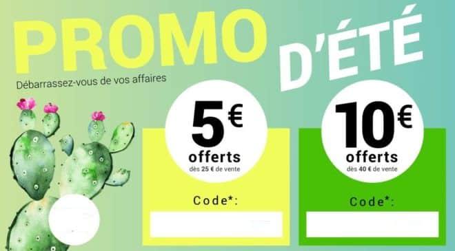 10€ offerts dès 40€ de vente sur Momox