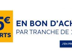 FLASH : 15€ offert sur Norauto par tranche de 100€ d'achats