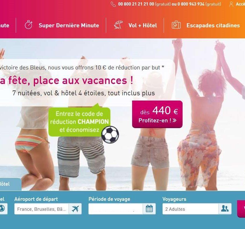 40€ de réduction sur tous les voyages L'tur