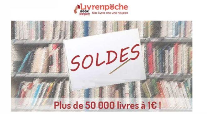 50 000 livres à 1€ en soldes sur Livrenpoche