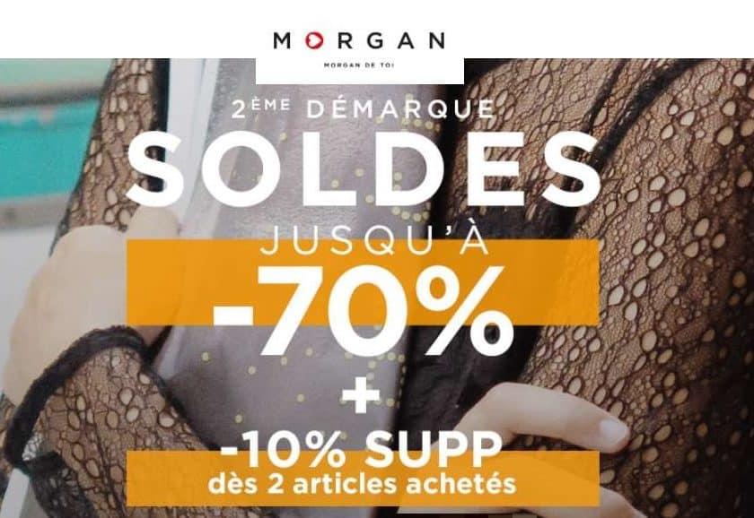 Deuxième démarque Morgan de Toi