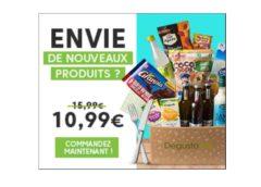 👍 Exclusif Degustabox + 1 produit supplémentaire 🎁 10,99€ port inclus (au lieu de 15,99€)