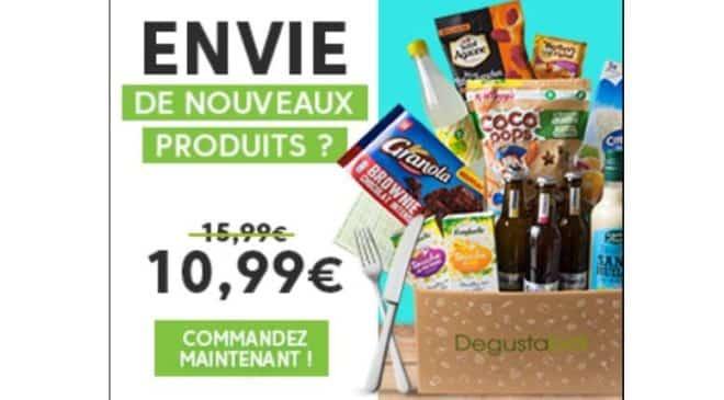 Exclusif Degustabox code promo 1 produit supplémentaire